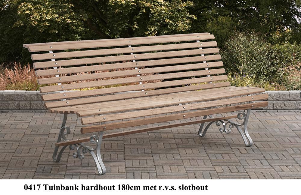 Tuinbank hardhout   Engel Picknicktafels Staphorst